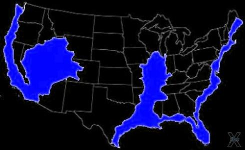 Землетрясение в Теннесси M 3.4 вызвано движением ВСЕЙ Северо-Американской плиты.