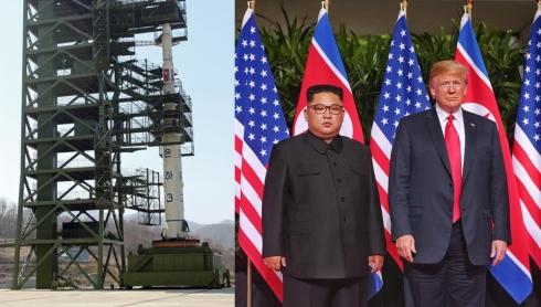 Северная Корея демонстративно готовится к ракетному испытанию?