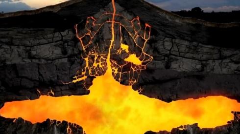 Озеро Йеллоустоун: 21 марта магма достигла дна.