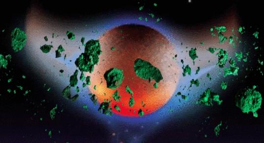 Нибиру тащит к Земле облако зеленых метеоритов. ОБНОВЛЕНО.