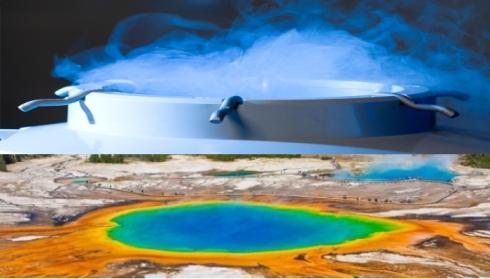 В Йеллоустоун начали цистернами закачивать жидкий азот.