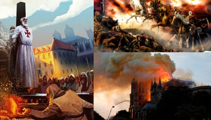 Пожар в Нотр-Дам-де-Пари: день начала Апокалипсиса?
