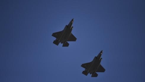 США перебрасывают к Ирану дополнительные F-35A Lightning II.