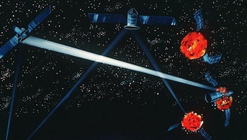 Звездные войны 2: Пентагон готов воплотить идею Рейгана о размещении боевых лазеров в космосе.