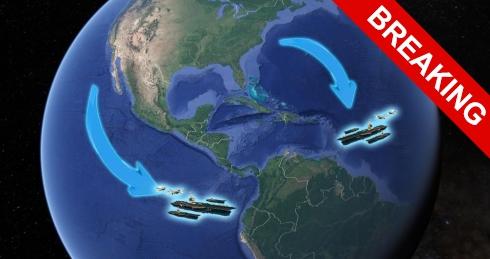 Вашингтон отправляет в Венесуэлу 2 авианосца.