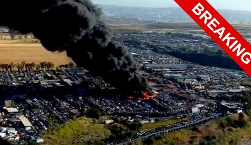 Ритуал Огня продолжается: горят две фабрики в США. ОБНОВЛЕНО.