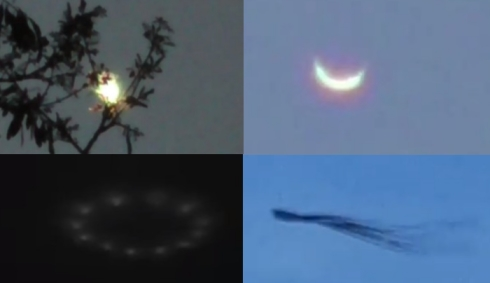 В небе каждый день наблюдают всё больше странных явлений.