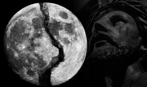 Луна скоро треснет и осколки начнут падать на голову.