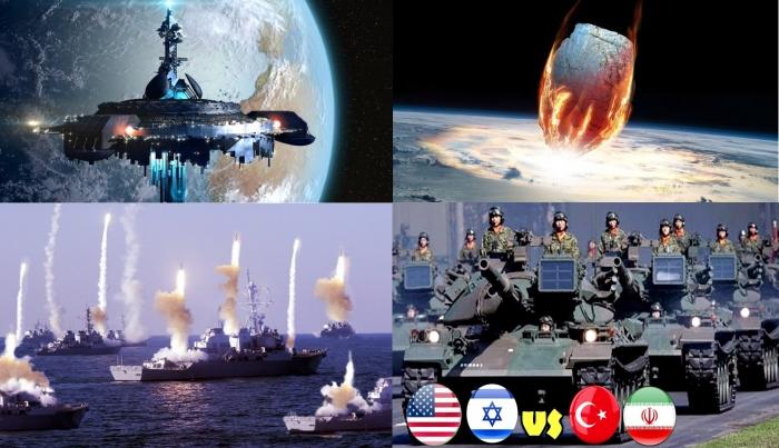Иран, Турция и Китай vs Израиль и США: астероид уравняет их всех.