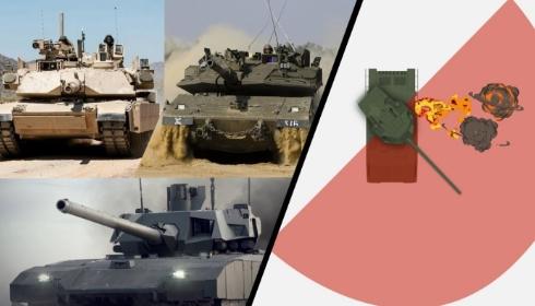 Пентагон разместил в Румынии самый технологичный в мире основной боевой танк.