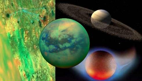 На спутнике Сатурна Титане высыхают моря. Когда закипят моря на Земле?