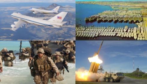 США готовятся к атаке со всех направлений?