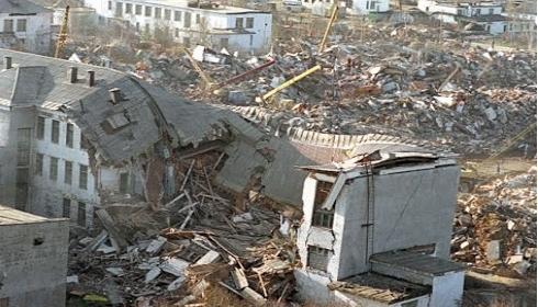 Землетрясение в Нефтегорске может повториться.