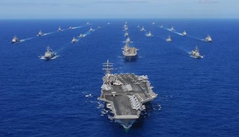 АУГ во главе с USS Harry S. Truman готовится в поход на Иран.