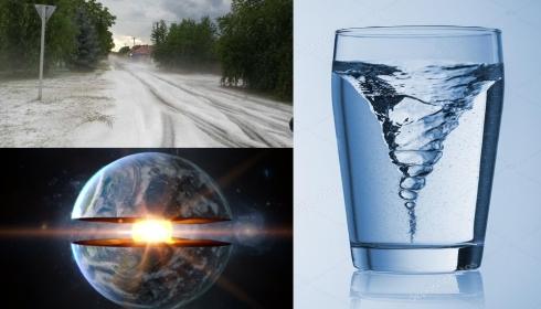 Холод в Европе вызывает вихревая воронка в ядре Земли?