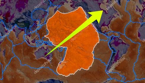Тихоокеанская тектоническая плита активировалась.
