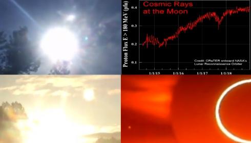 Протонное излучение на Луне значительно увеличилось. NASA ищет причину.