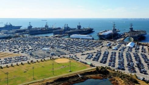 Базу ВМФ США Норфолк может уничтожить торпеда из гидрата метана.