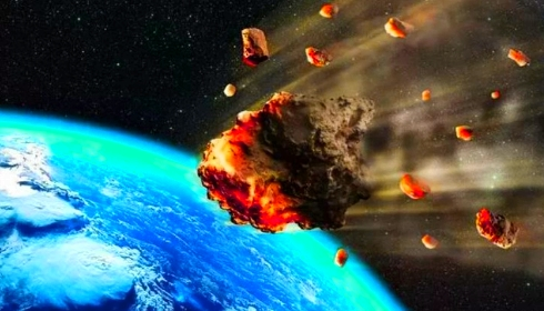 К Земле приближается астероид  2019 OD. 24 июля он подойдет очень опасно близко.