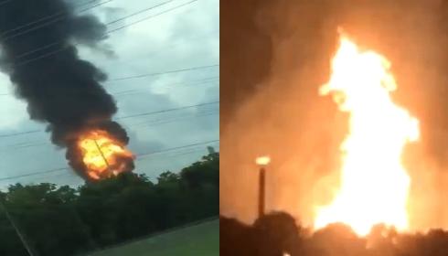 Чьи диверсанты сжигают Америку? Взорвались два завода подряд!