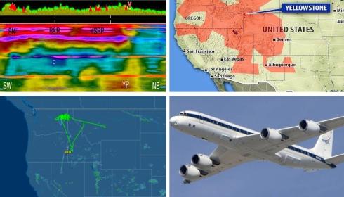 Море жидкого углерода под США штормит. Воздушная лаборатория NASA в небе круглые сутки.