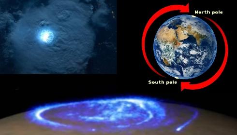 Гроза на Северном Полюсе! Магнитного полюса там уже нет?!