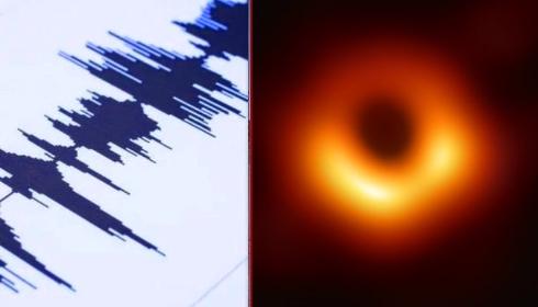 Из черной дыры в центре галактики к Земле идет сильная гамма-волна.