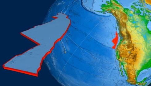 Под штатом Орегон обнаружена дыра в литосфере.