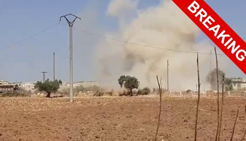 ВВС Сирии разбомбили турецкий конвой. ОБНОВЛЕНИЕ №2.