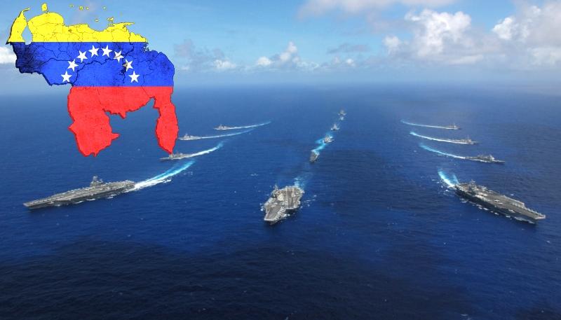 Морская блокада Венесуэлы, похоже, вопрос решенный.