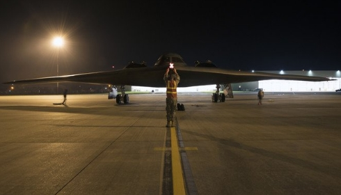 В Англию прибыли 3 бомбардировщика  B-2 Spirit.