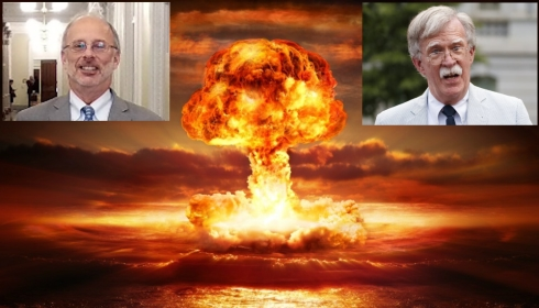 Джон Болтон уволен, как.... миротворец. Теперь в ядерной войне победит тот, у кого будет больше лопат.