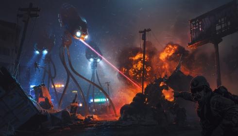 Инопланетяне готовят Нью-Йорк к зачистке?