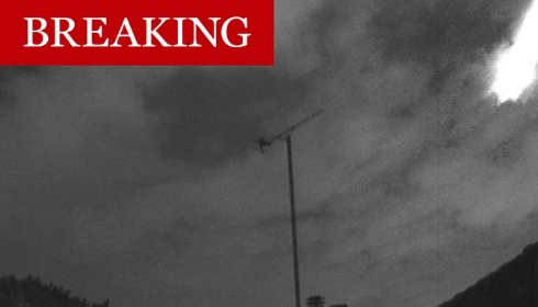 На Лондон снова упал «метеорит».