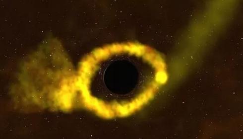 Астрономы впервые сфотографировали аннигиляцию звезды в черной дыре.