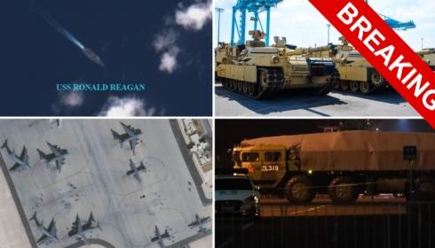 В Европу идут три ролкера, набитые танками. Война будет!