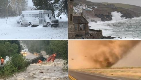 Англия тонет в воде, Монтана утопает в снегу, но в других частях мира всё еще впереди.