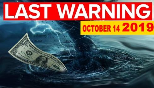 14 октября мировая экономика рухнет и начнется или «Золотой Век», или Третья мировая война.