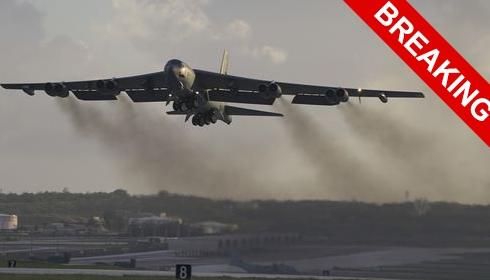 США перебрасывают в Европу 5 дополнительных B-52 Stratofortress.