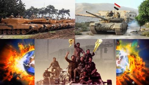 Сирия посылает на помощь курдам армию. Риск Третьей мировой нарастает.