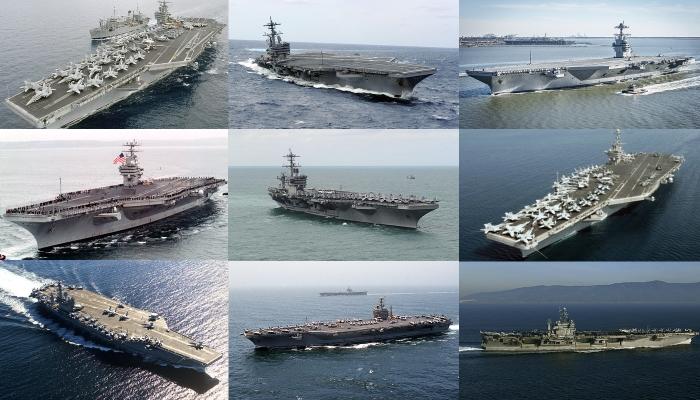 Америка потеряла 9 из 11 авианосцев.