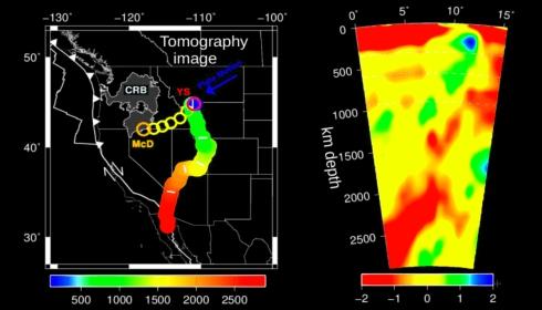 Новое исследование немецких геологов раскрывает природу вулканизма Йеллоустоуна.