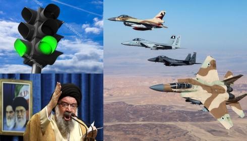 Израиль получил от Вашингтона «зеленый свет» на бомбардировки любых иранских объектов.