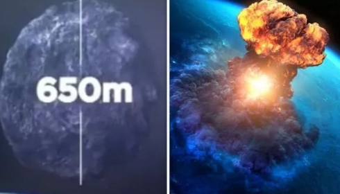 Инопланетяне хотят обрушить на Землю вторую скалу?