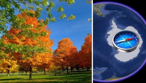 Нереальное «бабье лето» в Европе вызывают сдвиг полюсов и стратосферное потепление в Антарктиде.