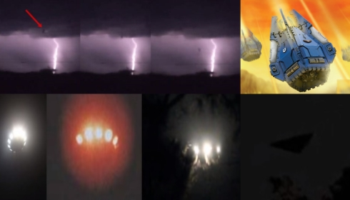 НЛО сбрасывают на Америку бомбы или переходят к десантированию?