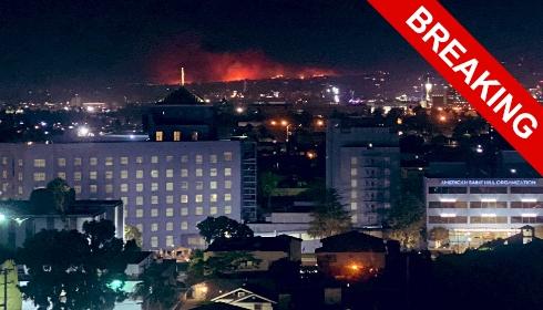 Лос-Анджелес в огне!