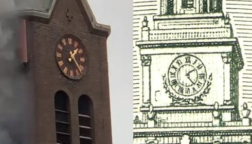 Пожар в церкви в Голландии предвещает крах европейской валюты?