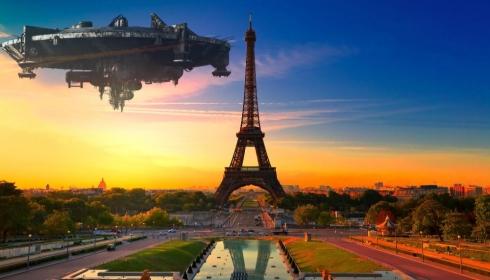 Огромный НЛО над Францией поставил на уши тысячи французов.
