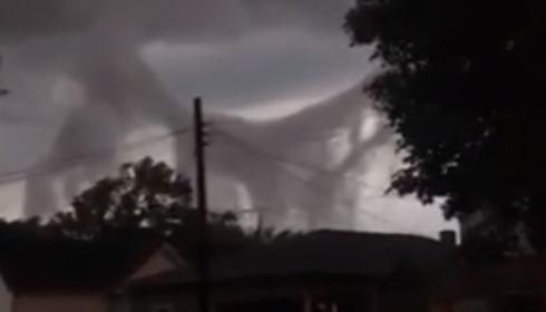 Вантовый мост в небе над Индианой или опять фокусы НЛО?